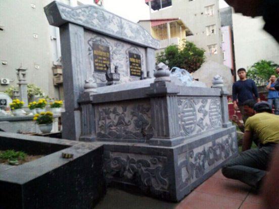 Mẫu mộ đôi LD 45