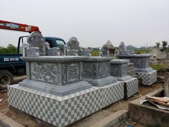 Mẫu mộ đơn giản LD 09