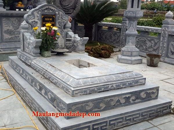 Mẫu mộ đơn giản LD 48