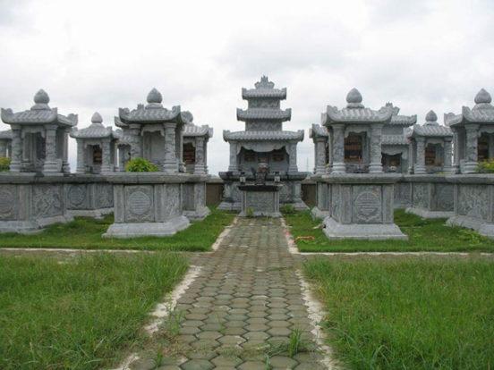 Mẫu mộ hai mái LD 11
