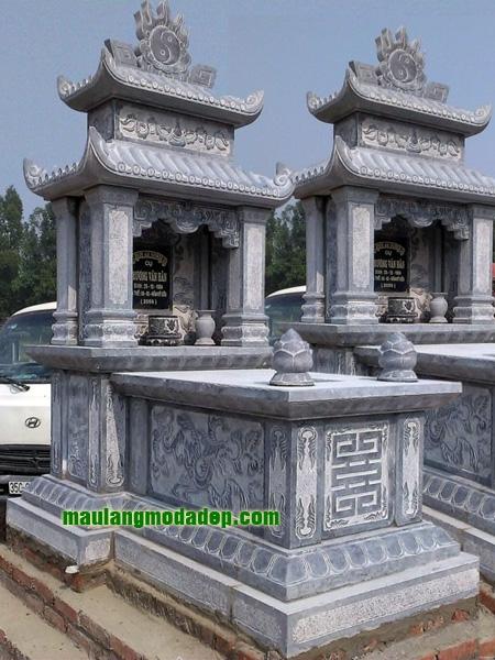 Mẫu mộ hai mái LD 18