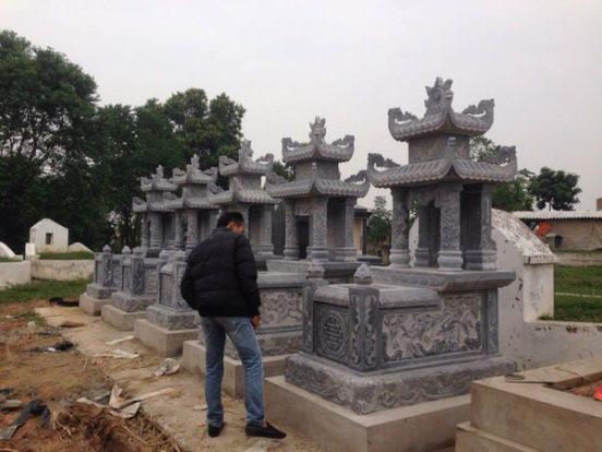 Mẫu mộ hai mái LD 19