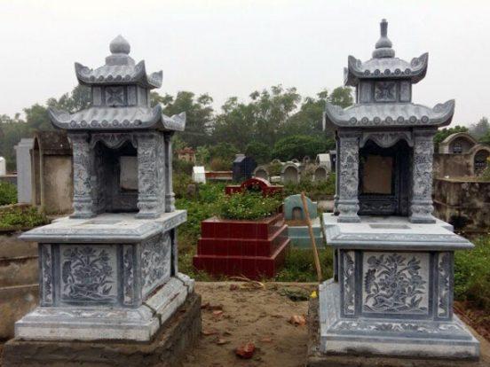 Mẫu mộ hai mái LD 30