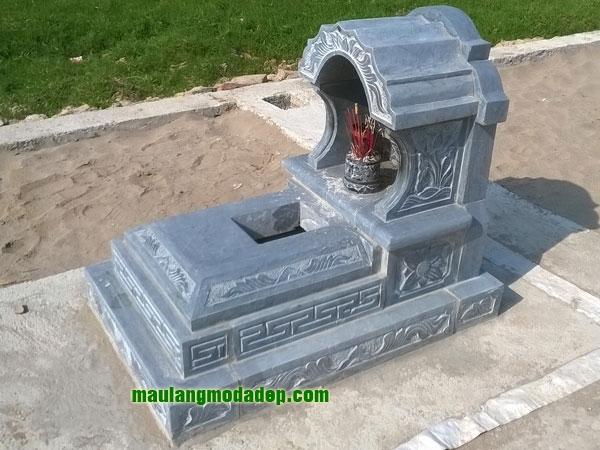 Mẫu mộ một mái LD 02