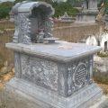 Mẫu mộ một mái LD 07