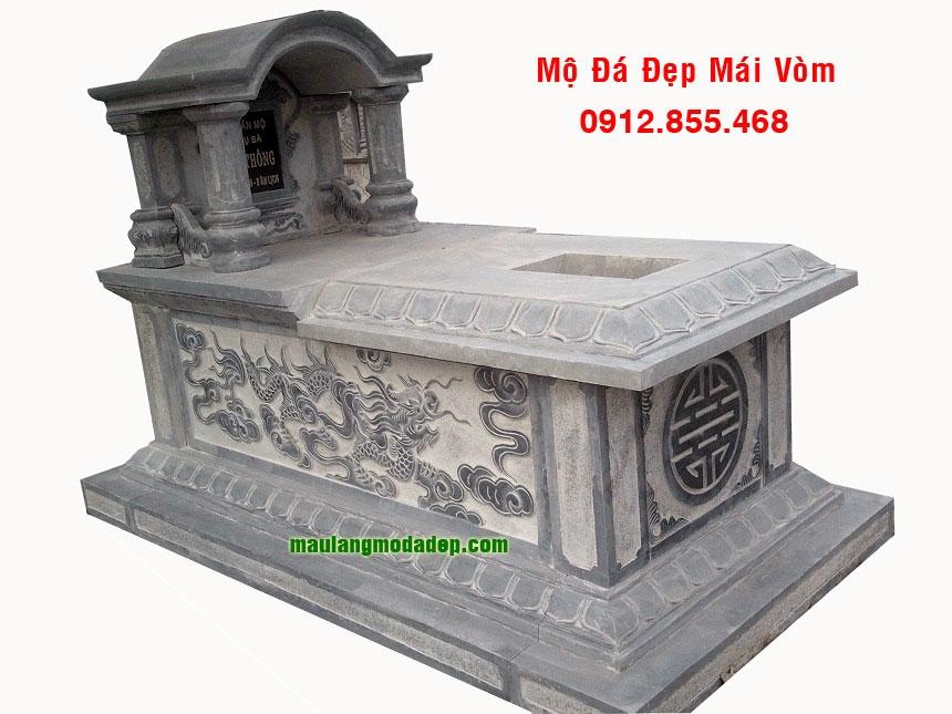 Mẫu mộ một mái LD 09