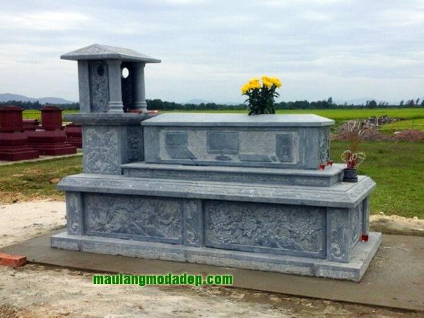 Mẫu mộ một mái LD 17
