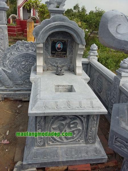 Mẫu mộ một mái LD 18