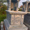 Mẫu mộ một mái LD 19
