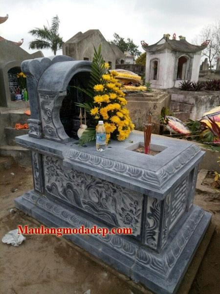 Mẫu mộ một mái LD 20