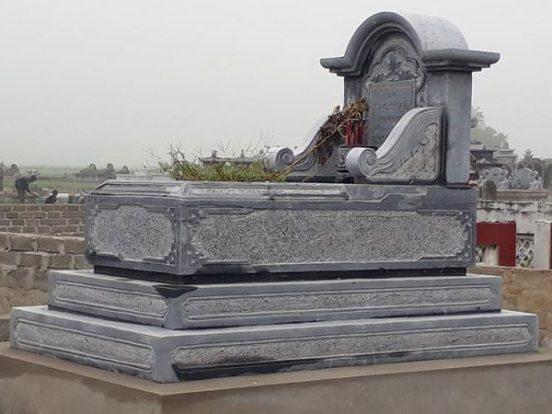 Mẫu mộ một mái LD 24