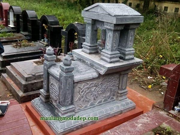 Mẫu mộ một mái LD 25
