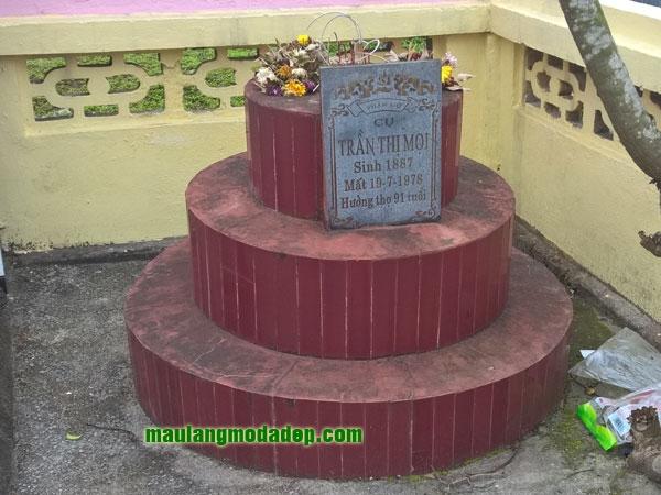 Mẫu mộ ốp gạch LD 02