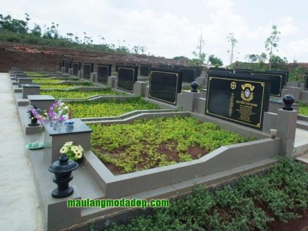Mẫu mộ ốp gạch LD 08