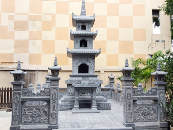 Mẫu mộ tháp LD 07