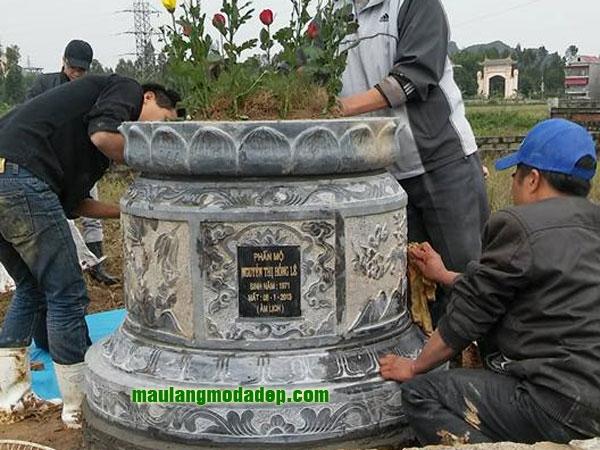 Mẫu mộ tròn LD 03