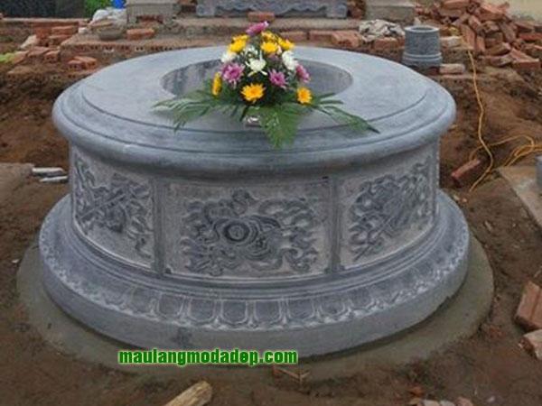 Mẫu mộ tròn LD 05
