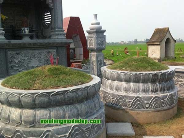 Mẫu mộ tròn LD 06