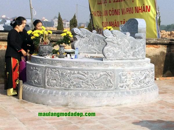 Mẫu mộ tròn LD 08