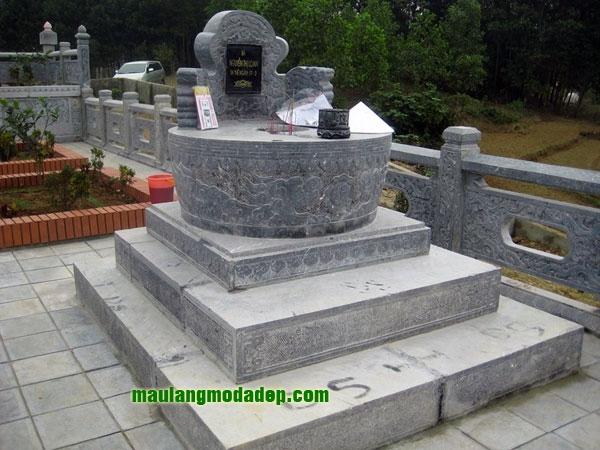 Mẫu mộ tròn LD 11