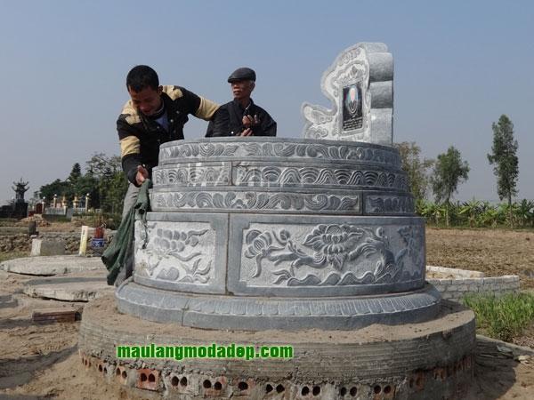 Mẫu mộ tròn LD 18