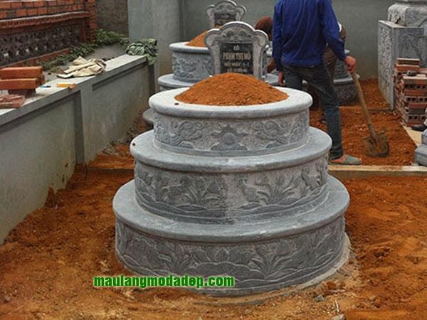 Mẫu mộ tròn LD 24