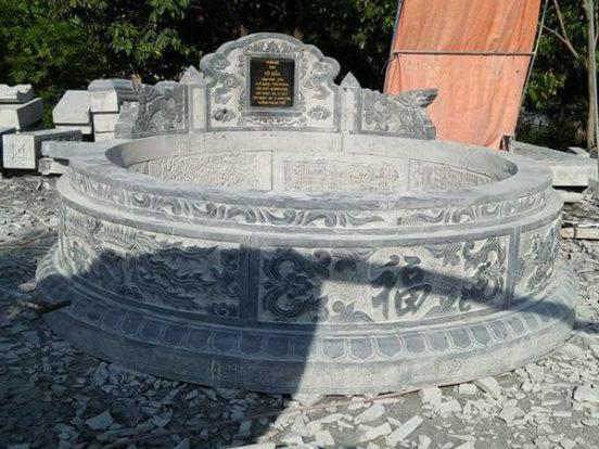 Mẫu mộ tròn LD 34