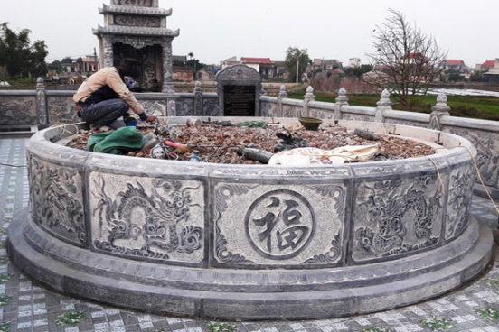 Mẫu mộ tròn LD 38