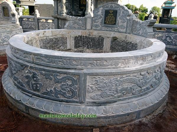 Mẫu mộ tròn LD 40