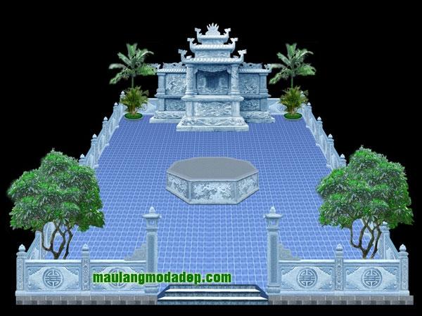 Mẫu thiết kế lăng mộ LD 02
