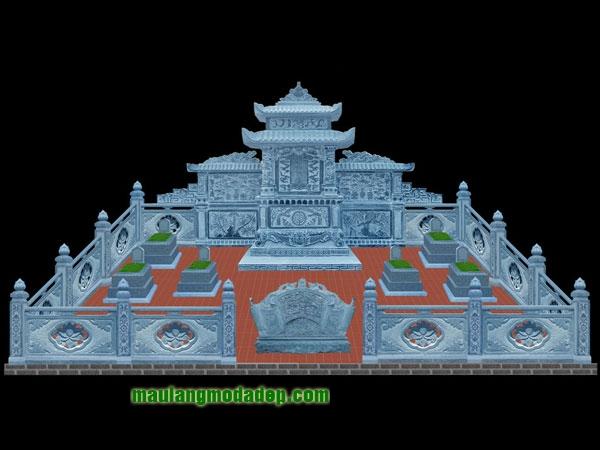 Mẫu thiết kế lăng mộ LD 03