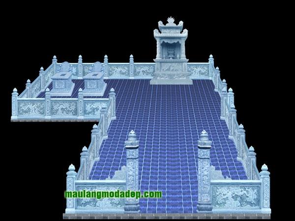 Mẫu thiết kế lăng mộ LD 04