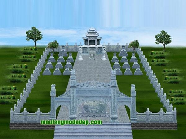 Mẫu thiết kế lăng mộ LD 05