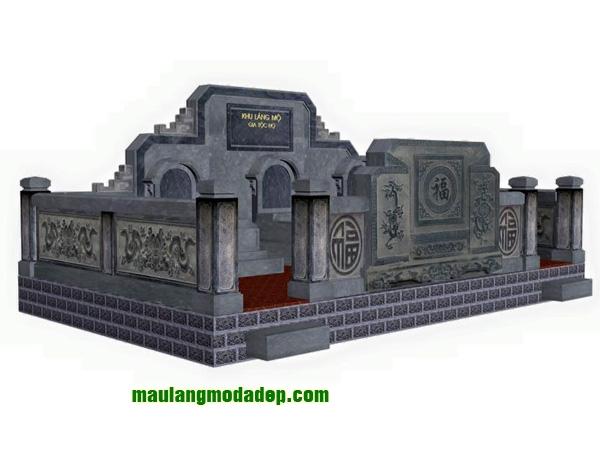 Mẫu thiết kế lăng mộ LD 06