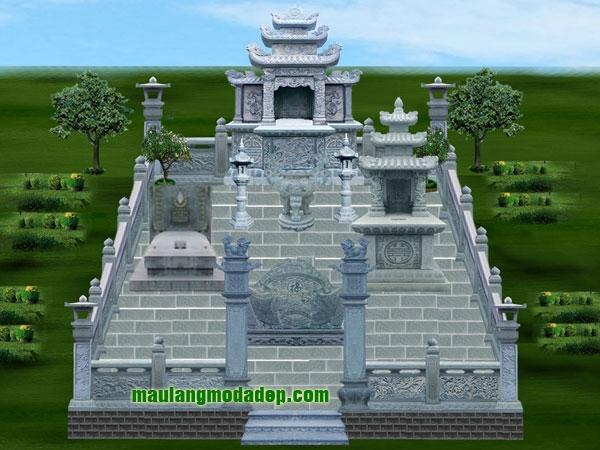 Mẫu thiết kế lăng mộ LD 08