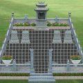 Mẫu thiết kế lăng mộ LD 10