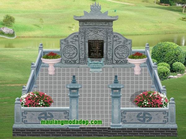 Mẫu thiết kế lăng mộ LD 12