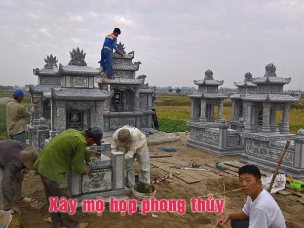 Xây mộ hợp phong thủy