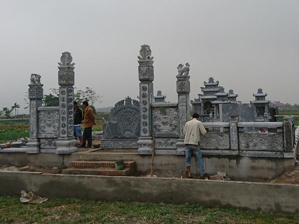 Kinh nghiệm của thợ làm lăng mộ đá Ninh Vân