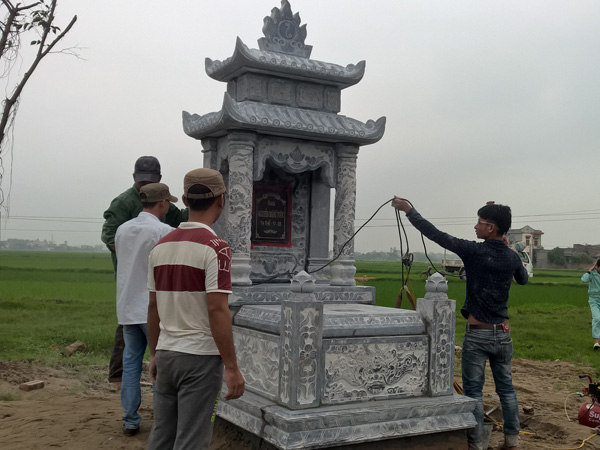 Lăng mộ đá Ninh Bình liên tục thiết kế mẫu mới