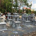 Một vòng quanh làng nghề chế tác mộ đá Ninh Vân