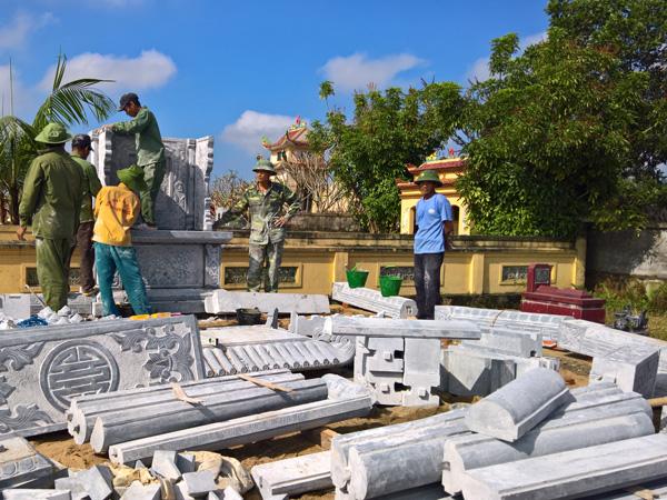 Nghề làm lăng mộ đá ở Ninh Vân Ninh Bình