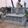 Thiết kế lăng mộ đá theo yêu cầu